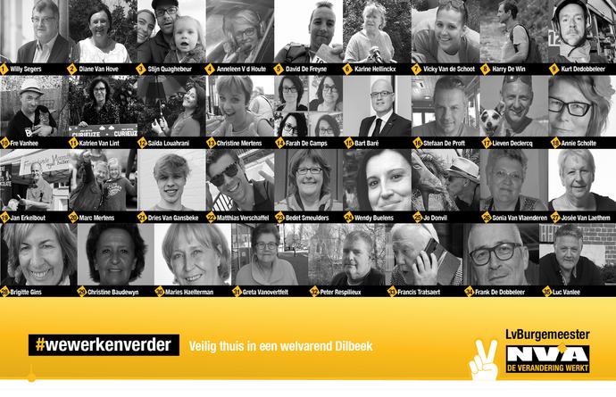 N-VA Dilbeek klaar met programma en lijst kandidaten