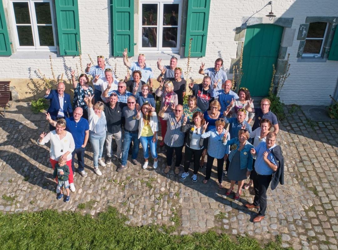 Groepsfoto N-VA Dilbeek